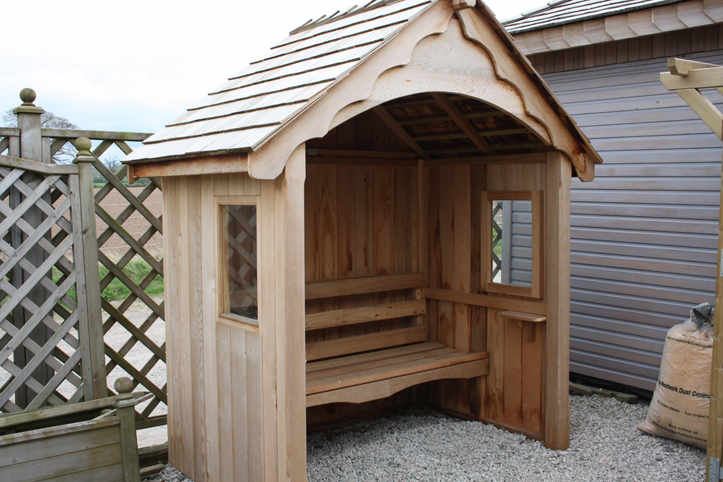 Solid Oak Arbour