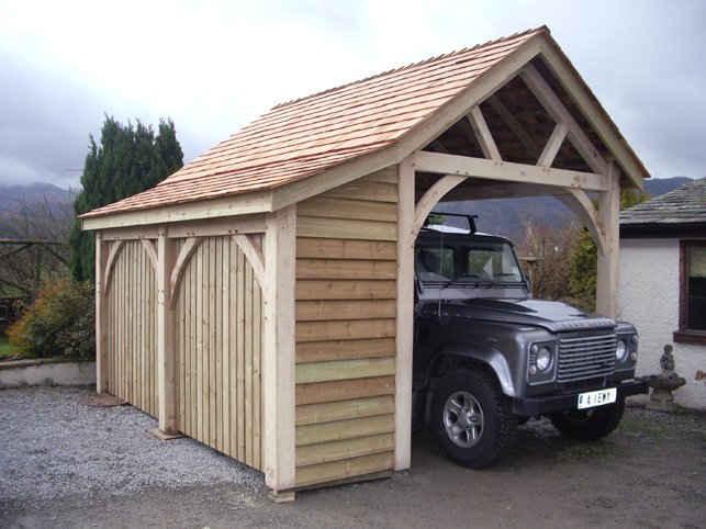 Garage for car