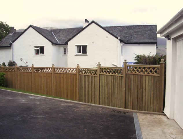 Stylish Garden Fence