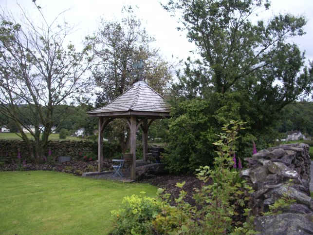 gazebo built by Carlisle joiners