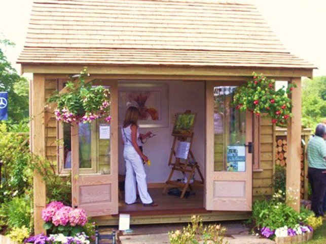 Garden Room Made By Joiners in the UK