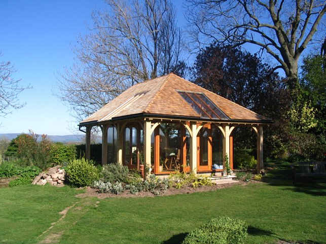 Garden Room By Joiners in Carlisle Cumbria, UK