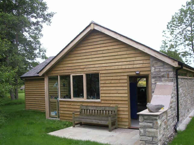 Wooden Outdoor Garden Room
