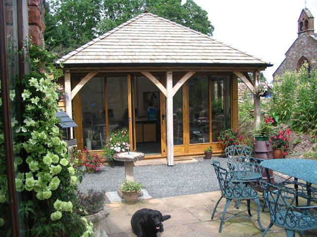 Garden Room Built in Carlisle Cumbria