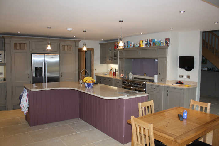 Fitted \kitchen Island