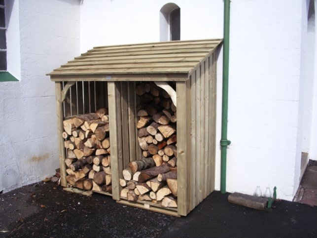 Woodstyle Joinery's Log Store