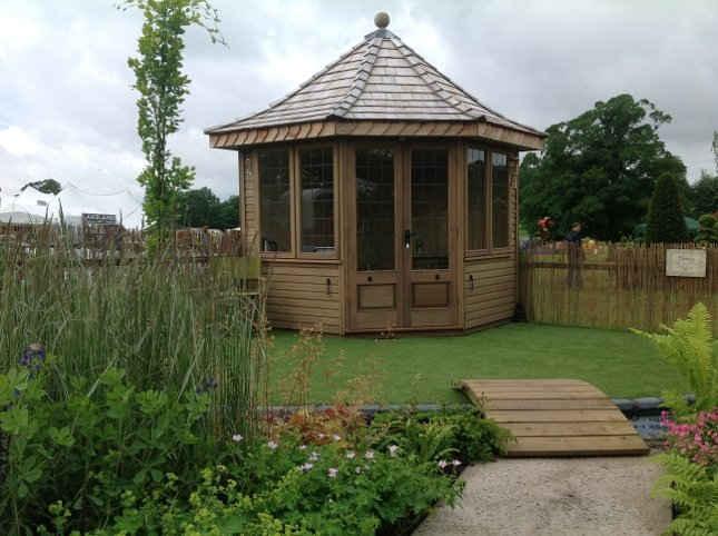 Borrowdale Solid Wood Summerhouse