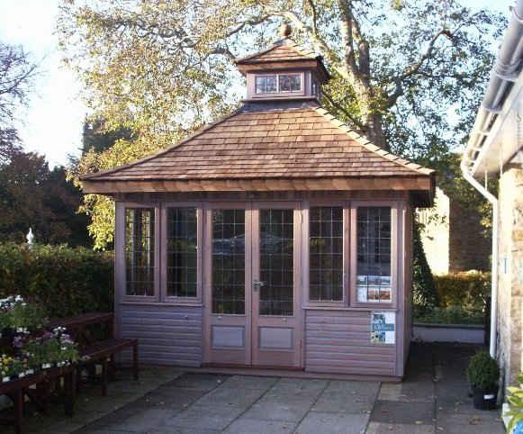 Keswick Wodden Summerhouse