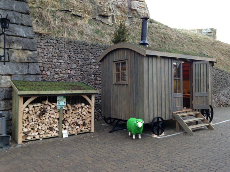 Shepherd's Hut Guest suite