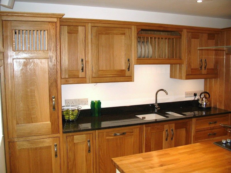 Small solid wood kitchen